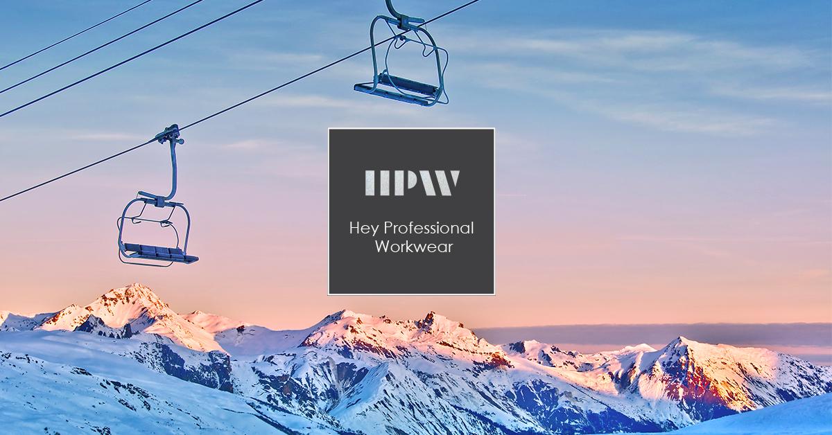 HEY Professional Workwear: la linea per i tecnici della neve