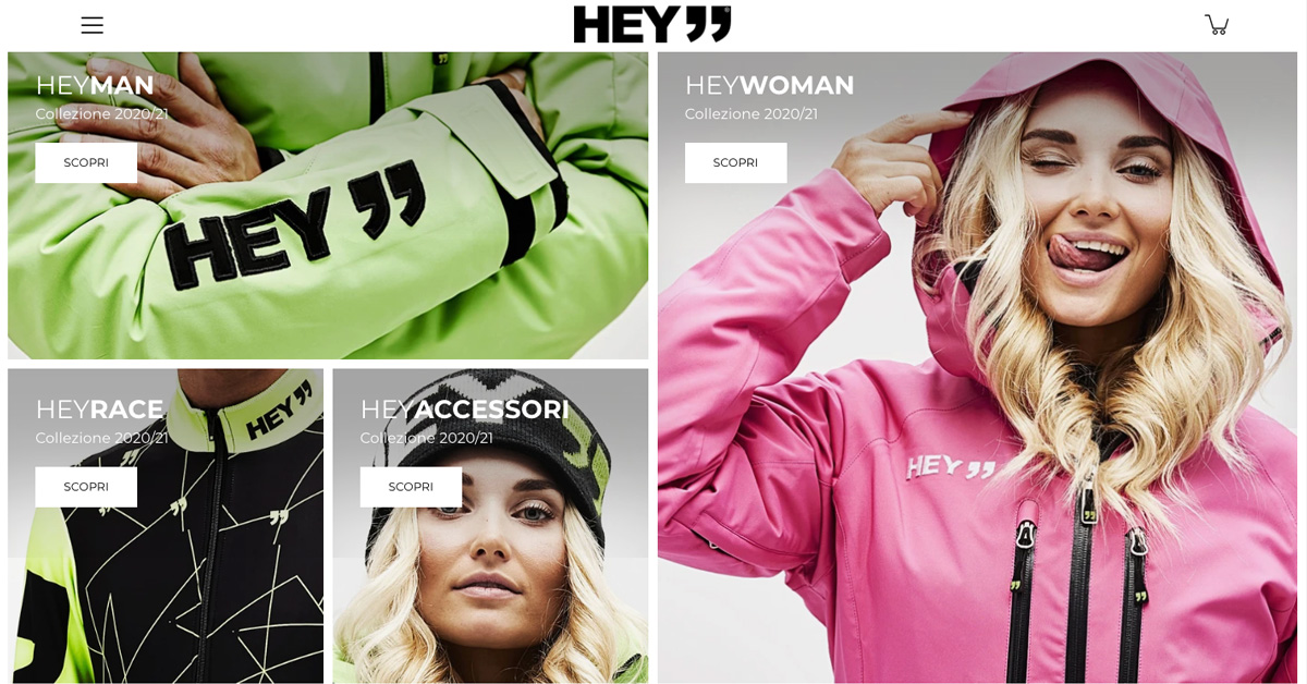HEY launches its e-commerce
